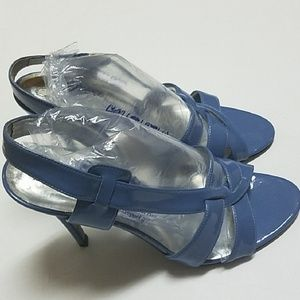 💯Stella McCartney slingback heels size 38 1/2